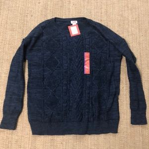 NWT Navy Sweater